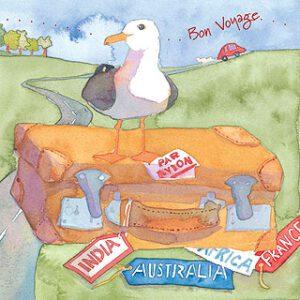 Bon Voyage Greetings Card-0