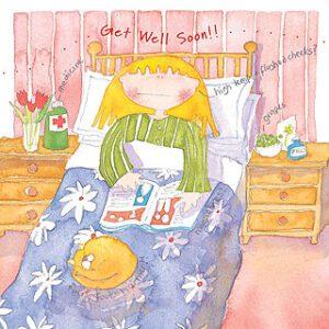 Get Well Soon Greetings Card-0