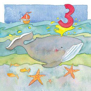 Age 3 Greetings Card-0