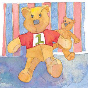 Age 1 Greetings Card-0