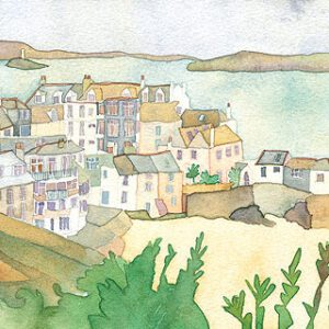 St Ives Greetings Card-0