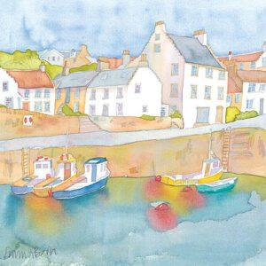 Crail Harbour 2 Print-0