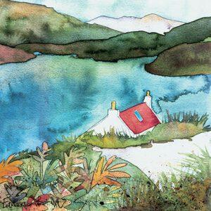 Croft at Loch Shieldag-0