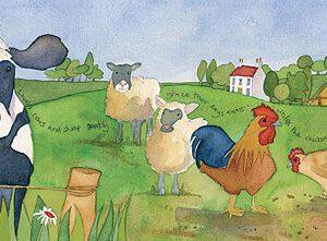 Barley Farm Long Print-0