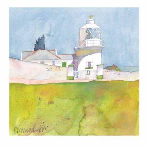 Anvil Point Lighthouse Print-0