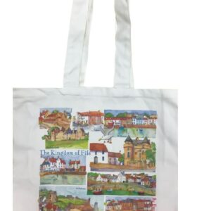 Kingdom of Fife Canvas Bag-0