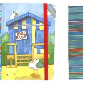 A6 Hard Back notebook - A day at the Seaside-0