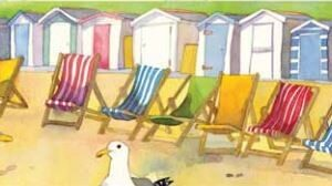 Beach huts and Deck Chairs Collectors Edition print-0