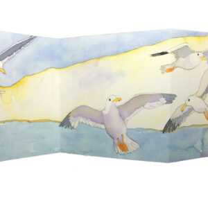 Swooping High two-fold card Greetings Card-0
