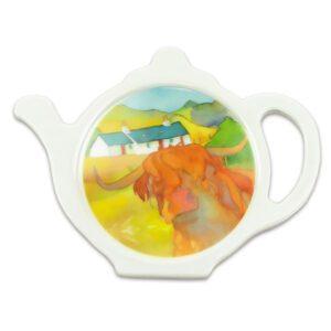 Highland Cow Tea Bag Tidy-0