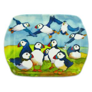 M52 Playful Puffin Scatter Dish