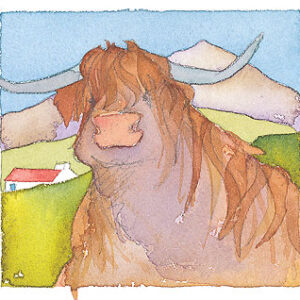 Highland Cow Limited Edition Print-0