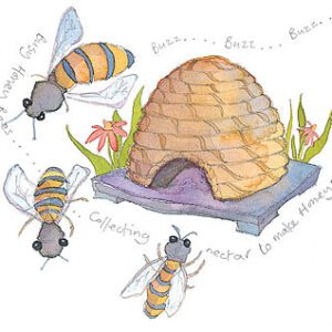 Bees Limited Edition Print-0