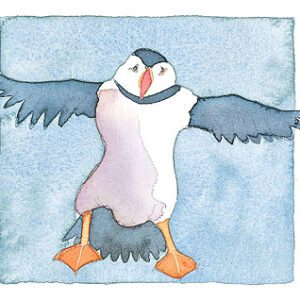 Flying Puffin Limited Edition Print-0