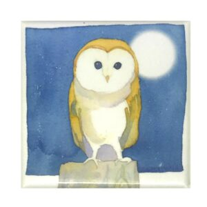 Barn Owl Magnet-0