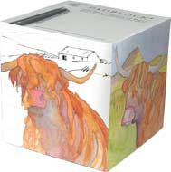 Highland Cow Padblock-0