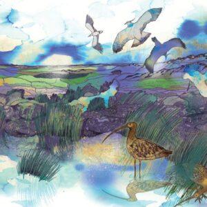 High Moors Greetings Card-0
