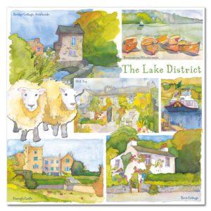 UK04 LAKE DISTRICT CARD