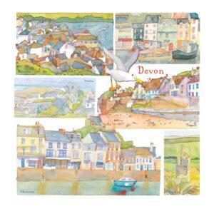 UK08 DEVON CARD