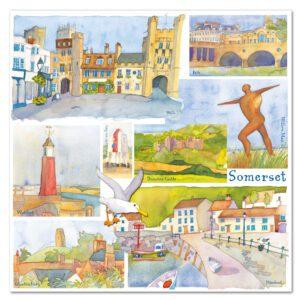 UK09 SOMERSET CARD