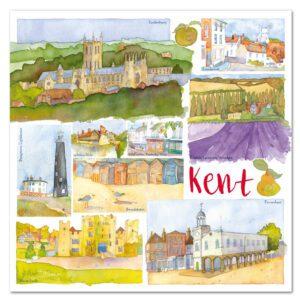 UK10 KENT CARD