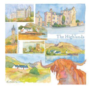 UK14 THE HIGHLANDS CARD