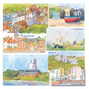 UK21 SUSSEX CARD
