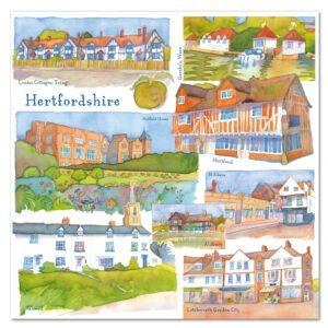 UK24 HERTFORDSHIRE CARD