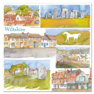 UK25 WILTSHIRE CARD