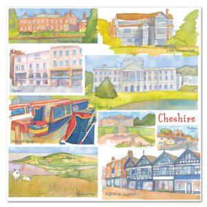 UK32 CHESHIRE CARD