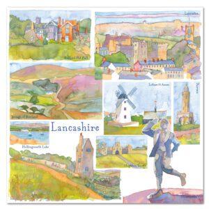 UK33 LANCASHIRE CARD