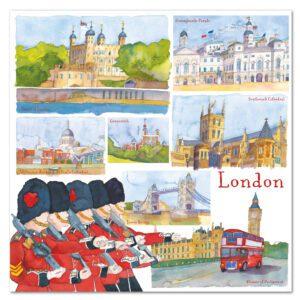 UK34 LONDON CARD