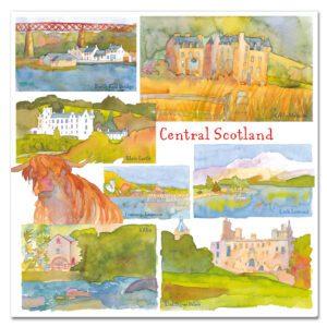 UK39 CENTRAL SCOTLAND CARD
