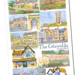 The Cotswolds Tea Towel-0