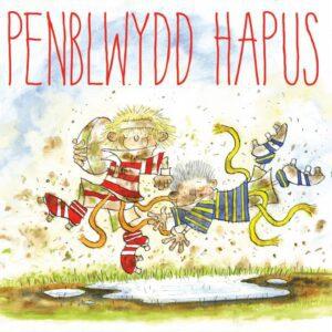 Welsh Rugby Tackle Birthday - (Penblwydd Hapus) Greetings Card-0