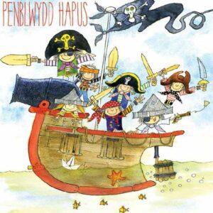 Welsh Pirate Birthday - (Penblwydd Hapus) Greetings Card-0