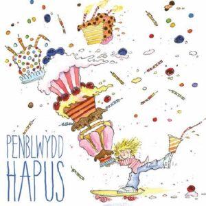 Welsh Birthday, cake delivery - (Penblwydd Hapus) Greetings Card-0