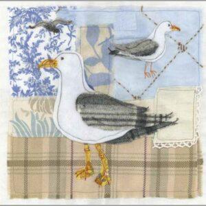 Tweedie Seagulls - Greetings card-0