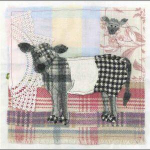 Tweedie Cow - Greetings card-0