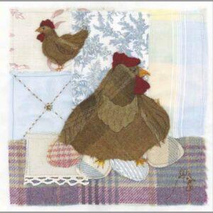 Tweedie Hen - Greetings card-0