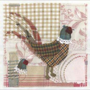 Tweedie Pheasant - Greetings card-0