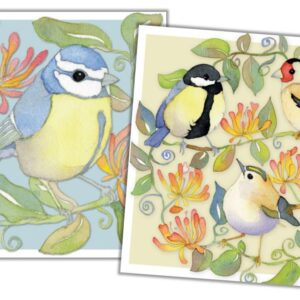 Garden Birds Mini Card Pack of 10-0