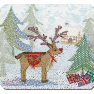Abigail Mill Rudolph Coaster Pack (4pack)-0