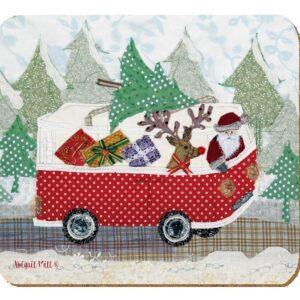 Abigail Mill Santa Coaster Pack (4pack)-0