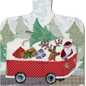 Abigail Mill Santa Mini Chopping Board-0
