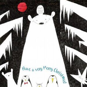 Polar Bear Xmas 6 card pack-0