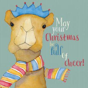 Camel Merry Xmas 6 card pack-0