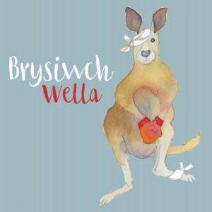 Welsh Get Well - (Brysiwch Wella) Greetings Cards-0