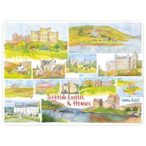 Scottish Castles & Houses Single Placemat -0