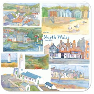 North Wales Packed Coasters (4pack)-0